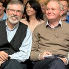 Old stagers: Gerry Adams and Martin McGuinness will dominate yet another Ard Fheis. Photo: Tony Gavin