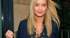 MTV babe Laura Whitmore at Today FM as a Guest on Ray Darcy Show, Dublin, Ireland - 07.10.13. Pictures: Cathal Burke / VIPIRELAND.COM *** Local Caption *** Laura Whitmore