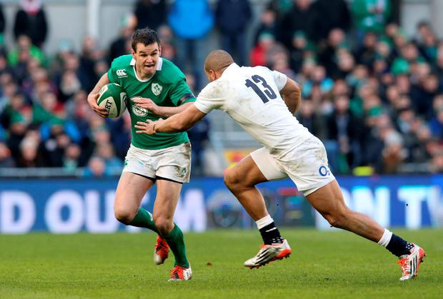 Jonathan Sexton's hamstring strain has been described as 'minor' and the fly-half should be fit in time for Ireland's Six Nations clash with Wales. Photo: David Rogers/Getty Images