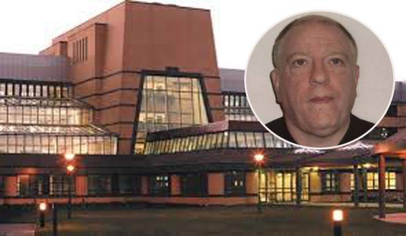 Tallaght Hospital; Derek Brockwell (inset)