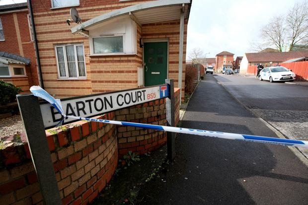 Avon and Somerset police search around Barton Court in Bristol for missing teenager Rebecca Watts. PRESS ASSOCIATION Photo. Picture date: Tuesday March 3, 2015. Detective Superintendent Mike Courtiour said in a statement: