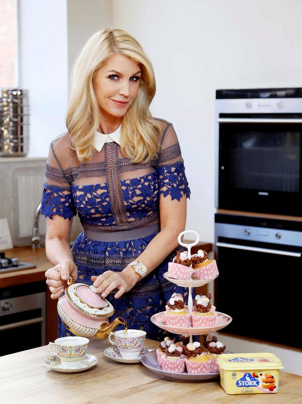 Yvonne Keating pictured is Stork's Easter baking campaign ambassador