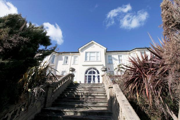 03/03/15 Brian O'Donnell's house 'Gorse Hill' on the Vico road, Killiney,Co Dublin. Pic Stephen Collins/Collins Photos