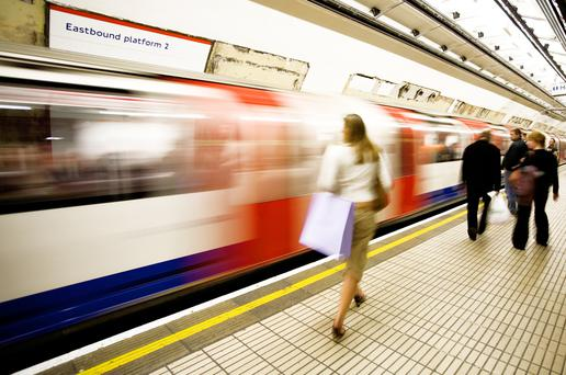 London: Catching the tube