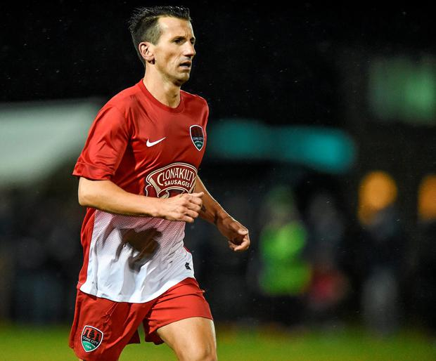 Liam Miller in action for Cork in 2015