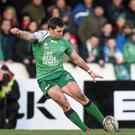 Connacht out-half Craig Ronaldson came within a whisker of equalling a scoring record which has stood since the first season of the league.