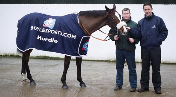 Willie Mullins and his team will cause Leon Blanche (right) and BoyleSports a lot of worry next week, especially on the opening day of Cheltenham