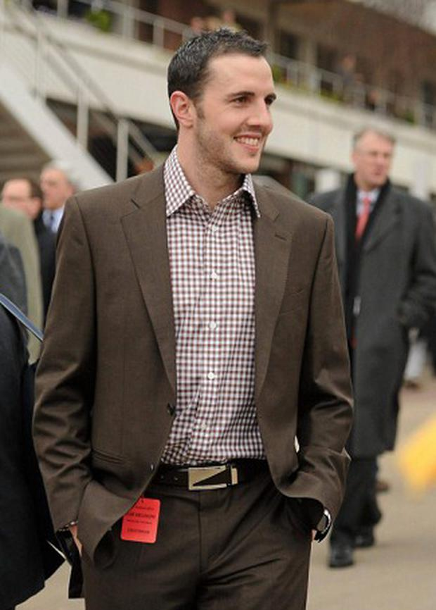 John O'Shea at the races
