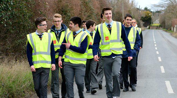 Gormanston College in Co Meath is planning to become the first school in the country to incorporate high visibility material into their uniforms