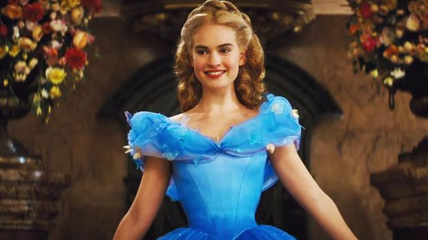 9ff480be32 What it really takes to look like a Disney princess - Lily James ...