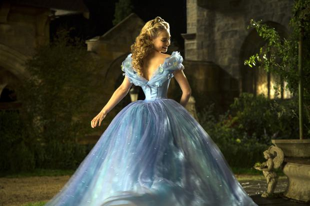 Lily James in Disney's Cinderella