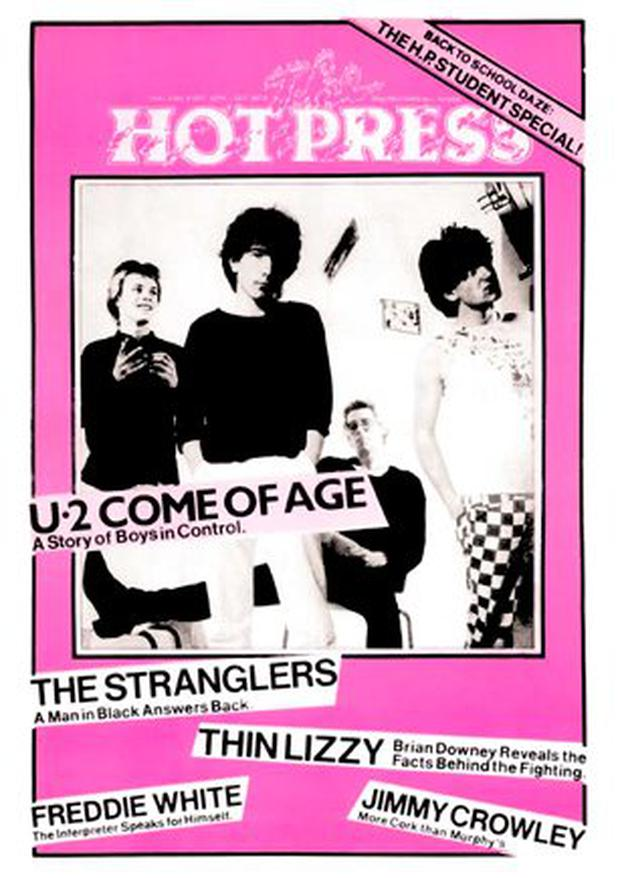 Hot Press Vol 3 No 11 October 29 1979 Cover Story U2