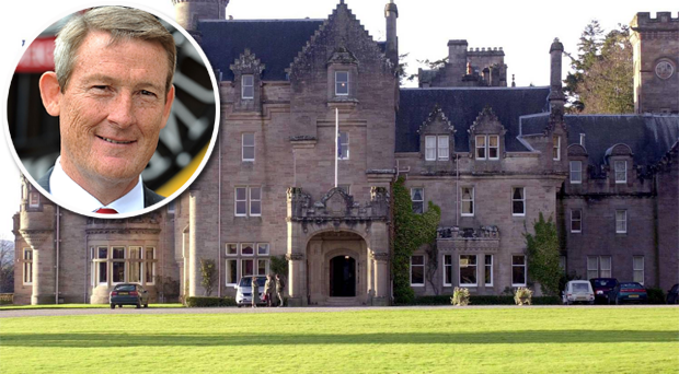 Ellis Short's Skibo Castle. Fact: Madonna and Guy Ritchie married here in 2000