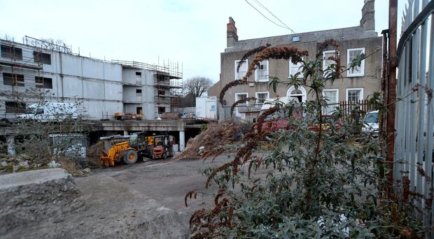 General view of site (with house once lived in by Thomas Clarke) on Richmond Avenue, off Richmond Road, Fairview, Dublin. Picture: Caroline Quinn