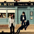 Ryan Adams and Natalie Prass outside McCoys on the set of Fair City at RTE