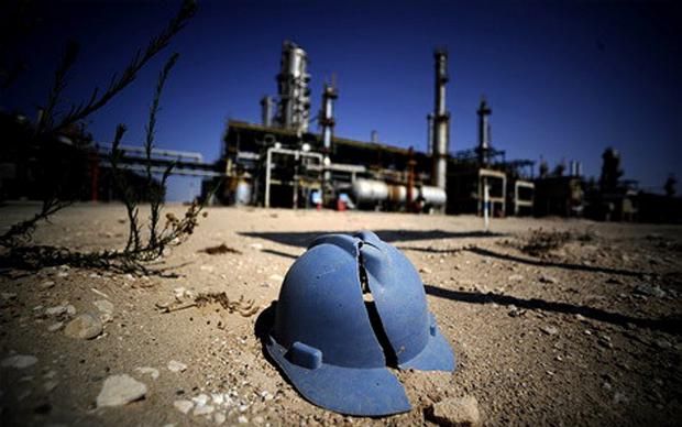 Libya forces drove off the gunmen after they took control of the Al-Ghani oilfield