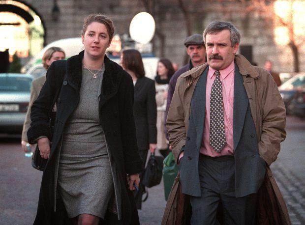 Paul Drury, pictured with the Evening Herald's former political correspondent Katie Hannon