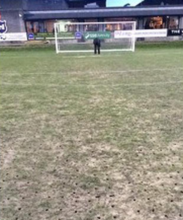 The Cabinteely pitch