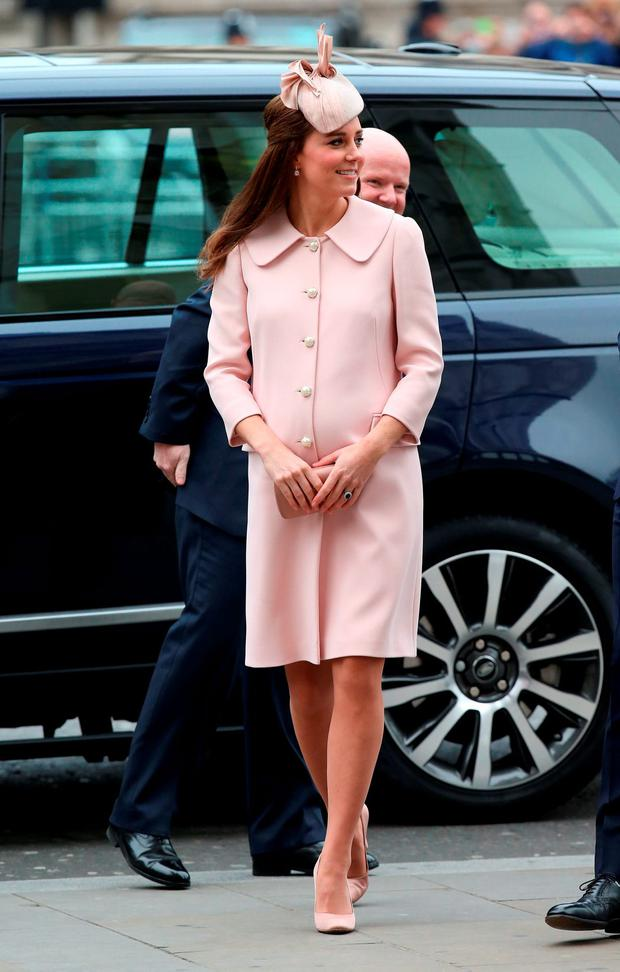 Catherine, Duchess of Cambridge attends the Observance for Commonwealth Day Service At Westminster Abbey