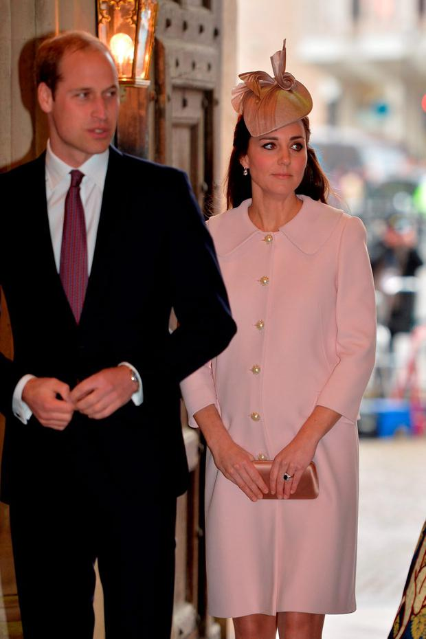 The Duke and Duchess of Cambridge attend the Commonwealth Observance at Westminster Abbey