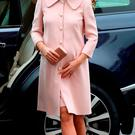 The Duchess of Cambridge arrives to attend the Commonwealth Observance at Westminster Abbey