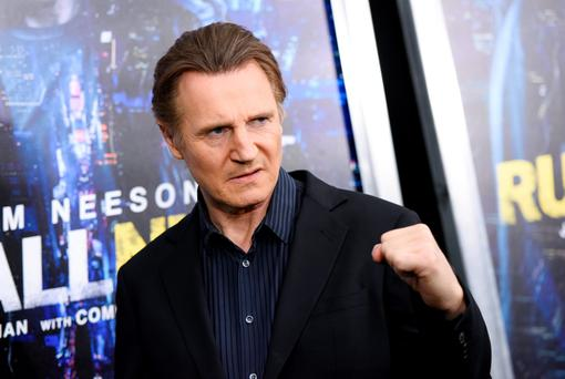 Actor Liam Neeson attends the world premiere of