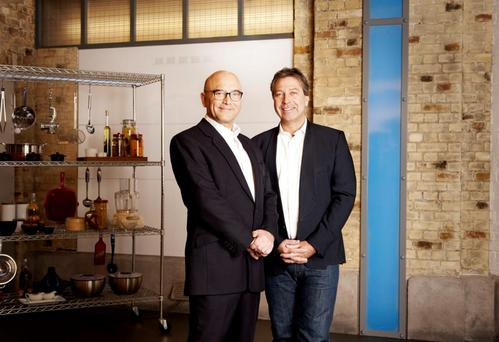 Gregg Wallace, John Torode on Masterchef