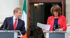 'Neither of the actual 'leaders', Enda Kenny nor Joan Burton, impressed at the banking inquiry. That in itself is far from fatal, but it did show up weaknesses'