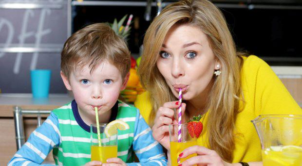 Ireland AM Presenter and MiWadi 'Mumbassador' Anna Daly and her son James (3)