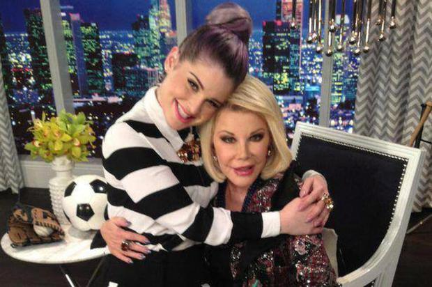 Kelly Osbourne and her late friend and mentor Joan Rivers