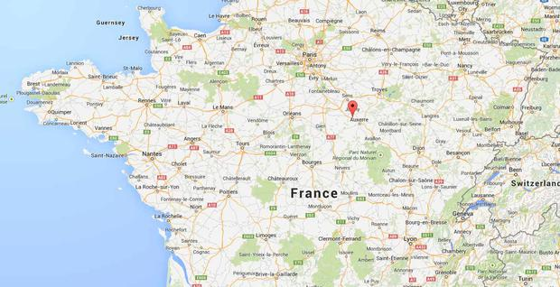 Motorway Map Of France.Millions Of Euro Worth Of Jewels Stolen After 15 Armed Raiders Stage