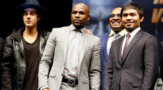 Eleven-time, five-division world boxing champion Floyd
