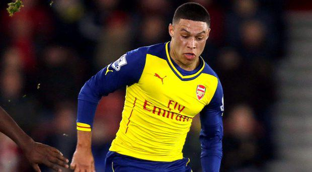 Arsenal face an anxious wait to find out the extent of the hamstring injury to England midfielder Alex Oxlade-Chamberlain