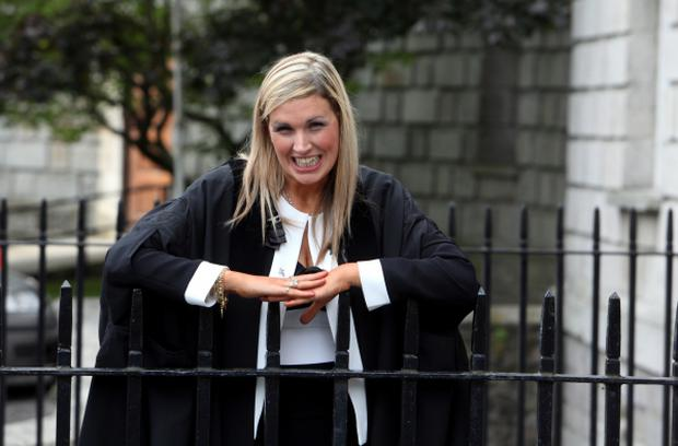 Sinead is also Ireland's first blind solicitor