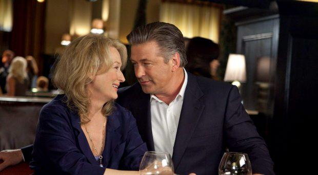 Meryl Streep, left, and Alec Baldwin can't keep things simple in It's Complicated