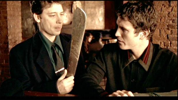 Nick Moran in Lock Stock and Two Smoking Barrells - the actor is coming to Dublin for the Jameson Cult Film Club