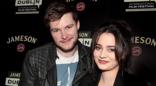 Irish actors Jack Reynor (Glassland, What Richard Did), Aisling Franciosi (The Fall, Quirke ) pictured launching the programme for the 2015 Jameson Dublin International Film Festival