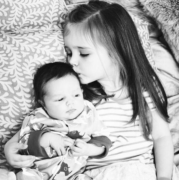 Aoife Belle and her little brother Tadhg