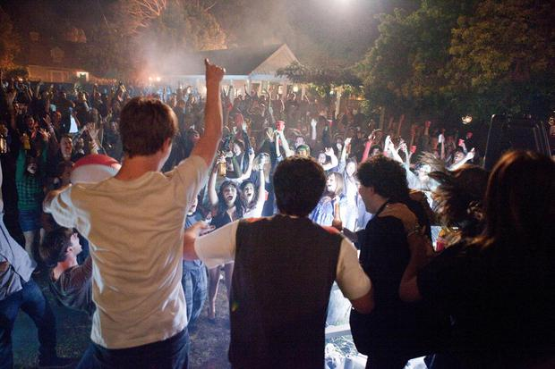 Dave expected to be met with scenes like those from the movie Project X when he returned home