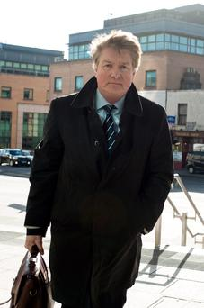 Brian O'Donnell at the Court of Appeal. Photo: Collins Courts.