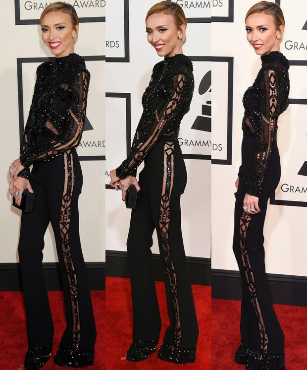 Giuliana Rancic's Grammy appearance shocked fans