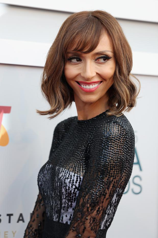 Giuliana Rancic arrives at the 2015 ASTRA Awards at the Star