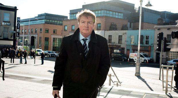 Brian O'Donnell at the Court of Appeal, Friday 13-03-2015