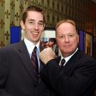 Ryan Tubridy and Tony Fenton. (Picture: The Irish Sun)