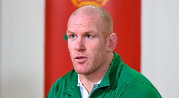 Ireland's Paul O'Connell during a press conference ahead of their RBS Six Nations Rugby Championship game against Wales on Saturday