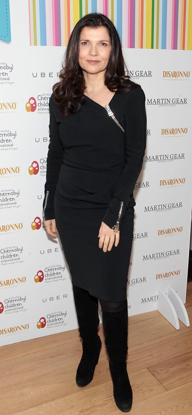 Ali Hewson at Liz O Donnell's annual fundraising lunch for Adi Roche's Chernobyl Children International at Fire Restaurant ,Dublin Picture: Brian McEvoy