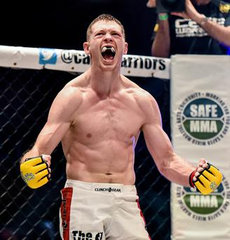 Ireland's Joseph Duffy secured as first-round win
