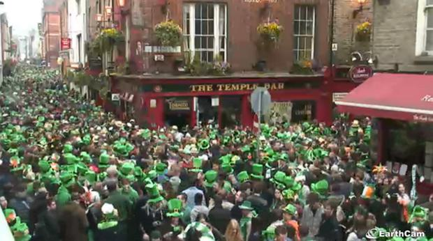 The Temple Bar Company is asking Gardai to crackdown on public drinking in the area