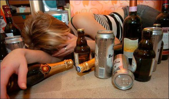 Drink culture: Ireland has the second highest rate of binge drinking in the world.