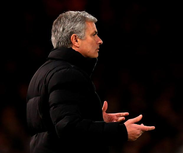 Chelsea manager Jose Mourinho is hooked on playing a dangerous game